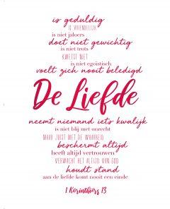 Lifestyle - Wallpaper: 1 Korinthiërs 13