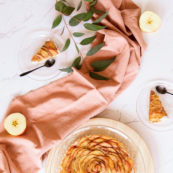 Cinnamon-apple-tart