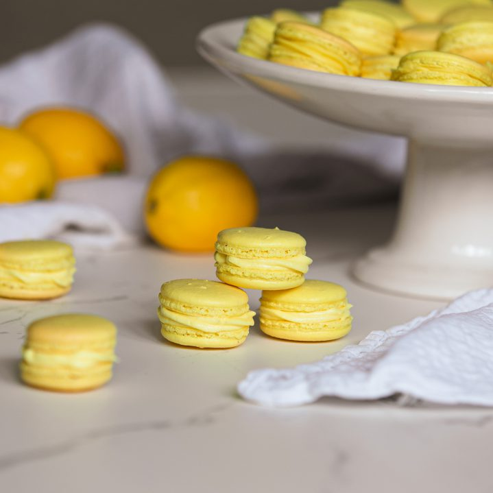 Citroen-Macarons