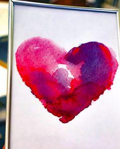 Studie - Het Goddelijke portret van de liefde