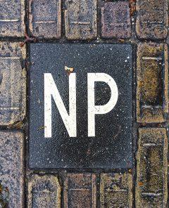 Boodschap - Hier niet parkeren