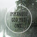 Lifestyle - Wallpaper Immanuel God met ons