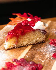 strawberry-upside-downcake